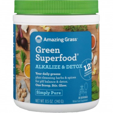 Amazing Grass Green Superfood Alkalize & Detox 8.5 oz