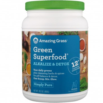 Amazing Grass Green Superfood Alkalize and Detox 28.2 oz