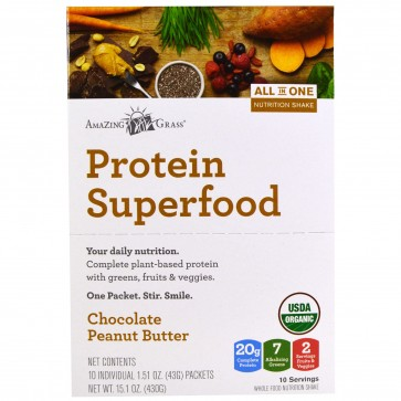 Protein SuperFoods Chocolate Peanut Butter | Protein SuperFoods
