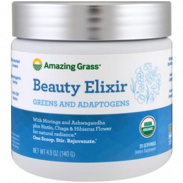 Amazing Grass Beauty Elixir Greens and Adaptogens 4.9 oz (140g)