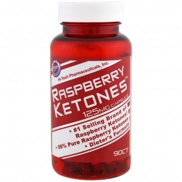 Hi-Tech Raspberry Ketones 125 mg 90 Capsules