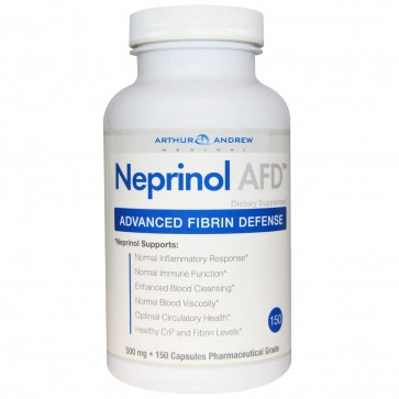 Arthur Andrew Medical- Neprinol AFD 500mg 150 Capsules