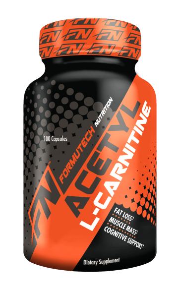 Acetyl L-Carnitine 100 Capsules by Formutech Nutrition