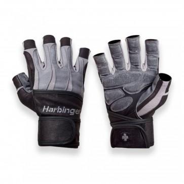 BioForm WristWrap Gloves Black/Gray by Harbinger