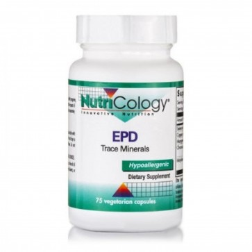 Nutricology EPD Trace Minerals 75 Capsules