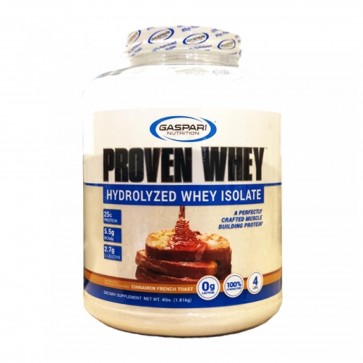 Proven Whey Hydrolyzed Whey Isolate Cinnamon French Toast 4 lbs