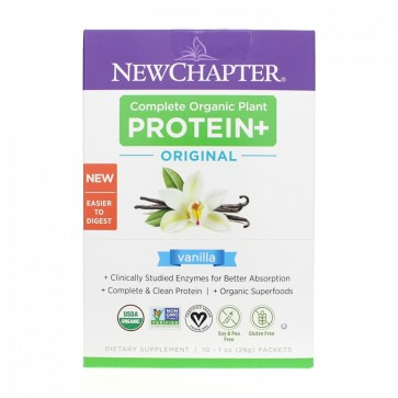 New Chapter Plant Protein Vanilla Packets