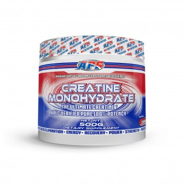 Creatine Monohydrate 100 servings (500g) by APS