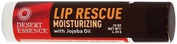 Desert Essence Lip Rescue Jojoba Oil and Aloe Vera .15 oz