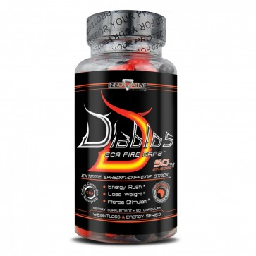 Diablos ECA Fire Caps with ephedra by Innovative Labs