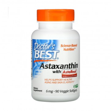 Doctors Best Astaxanthin with AstaReal 6 mg