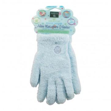Earth Therapeutics Aloe Moisture Gloves 1 Pair (Blue)