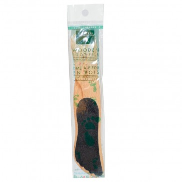 Earth Therapeutics Wooden Foot File