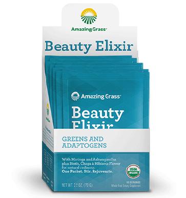 Amazing Grass Beauty Elixir | Beauty Elixir Packets