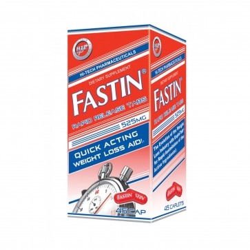 Fastin Rapid Release 525mg 45 Caplets by Hi Tech Pharmaceuticals