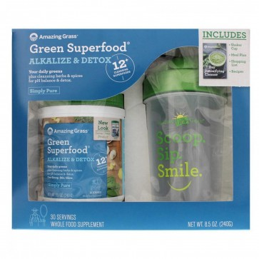 Green Superfood Alkalize and Detox Kit | Green Superfood Alkalize and Detox