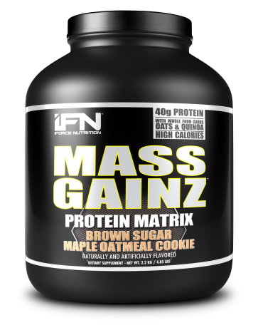 iForce Nutrition Mass Gainz Brown Sugar Maple Oatmeal Cookie 5 lbs