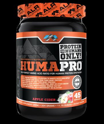 ALR Industries Humapro Powder Apple Cider 667 grams (23.52 ounces) 90 Servings