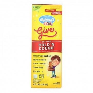Hyland's 4 Kids Give Daytime Cold 'n Cough 4 fl oz