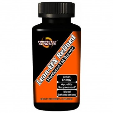 Lean-EFX Refined Hardcore Fat Burner 60 Capsules by Formutech Nutrition