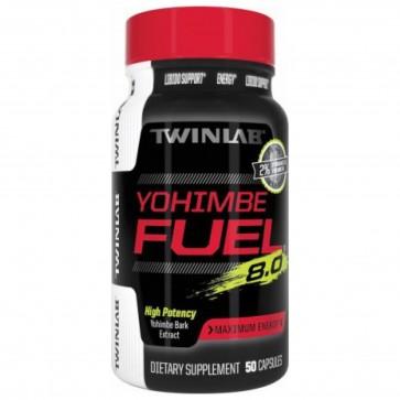 Twinlab Yohimbe Fuel 8.0 50 Capsules