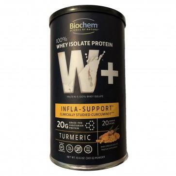 BioChem 100% Whey Isolate Protein W+ Infla-Support Curcumin Turmeric 20 g Protein