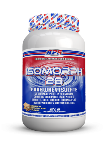 APS Isomorph 28 Pure Whey Isolate Cinnamon Graham Cracker 2 LB