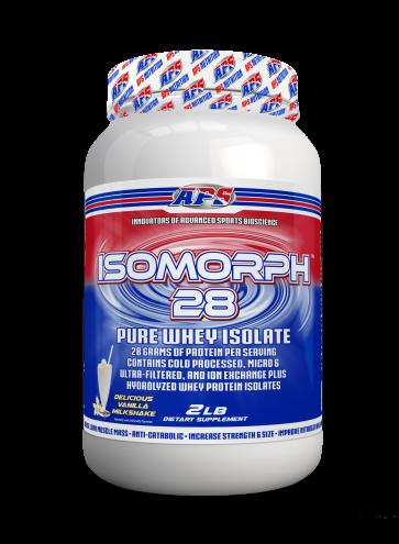 APS Isomorph 28 Pure Whey Isolate Delicious Vanilla Milkshake 2 LB