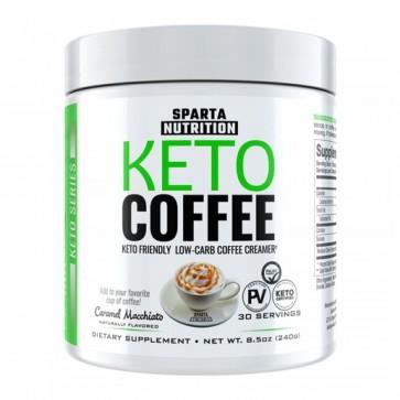 Keto Coffee Caramel Macchiato