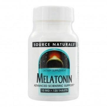 Source Naturals Melatonin 10 mg 120 Tablets