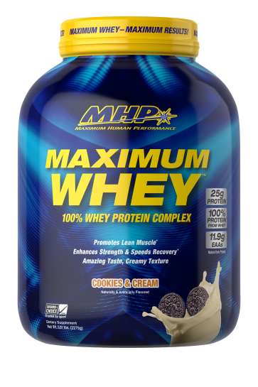 Maximum Whey Cookies And Cream 5 Lb