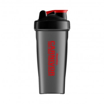 MuscleMeds Carnivor Shaker Cup Black/Red