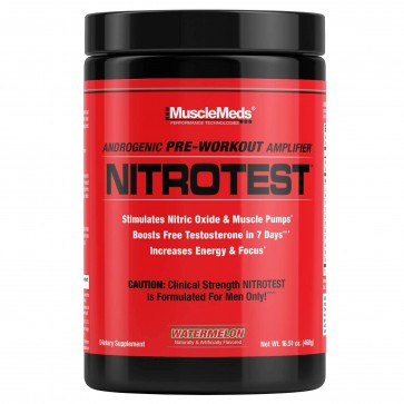 NitroTest Pre Workout Watermelon