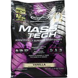 Muscletech Mass Tech Vanilla 12 lbs