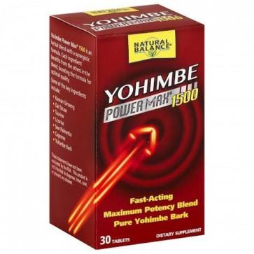 Natural Balance Yohimbe Power Max 1500 - 30ct Tab
