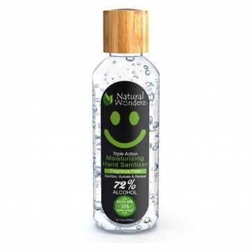 Natural Wonderz Moisturizing Hand Sanitizer Fragrance Free