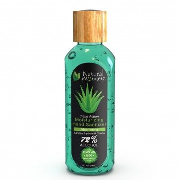 Natural Wonderz Moisturizing Hand Sanitizer Aloe Vera