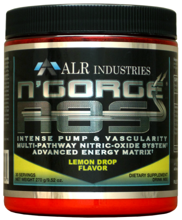 N'Gorge NOS Lemon Drop 30 Servings by ALR Industries