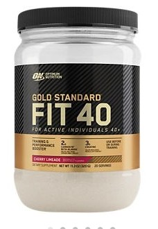 Optimum Nutrition Gold Standard FIT 40 Cherry Limeade 11.3 oz