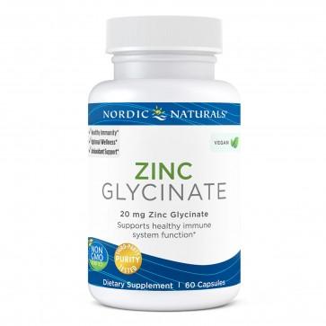 Nordic Naturals Zinc Glycinate 20mg