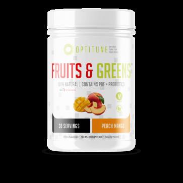 Optitune Fruits and Greens Peach Mango