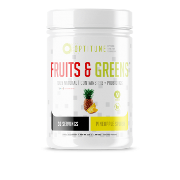 Optitune Fruits and Greens Pineapple Splash
