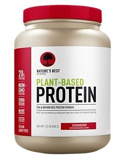 Natures Best Plant-Based Protein Strawberry