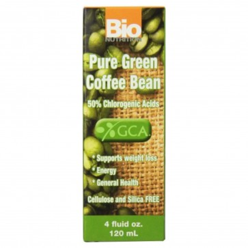 Bio Nutrition Pure Green Coffee Bean 4 fl oz (120 ml)