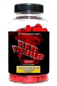 American Generic Labs Red Devils Super Strength Ephedra 100 Capsules