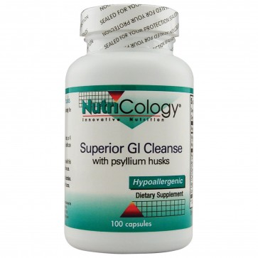Nutricology- Superior GI Cleanse 100 Vegetarian Capsules