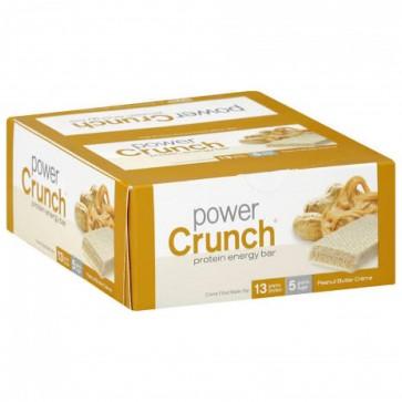 Power Crunch Peanut Butter Cream bars