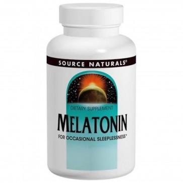 Source Naturals Melatonin Sublingual Orange 2.5 mg 60 Tablets