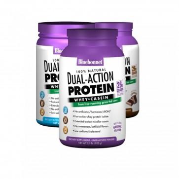 Bluebonnet Dual Action Protein   Bluebonnet Dual Action Protein Whey Casein