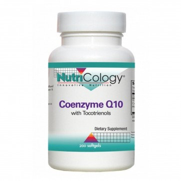 Nutricology Coenzyme Q10 with Tocotrienols 200 Softgels